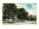 Burlington, Vermont, Fort Ethan Allen View of Officers' Row Prints