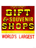 Gift Shop, Las Vegas Poster by  Tosh