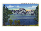 Custer State Park, South Dakota, View of Sylvan Lake in the Black Hills Posters by  Lantern Press