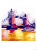 Tower Bridge, London Giclee Print by  Tosh