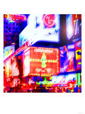 Times Square Neon, New York Posters by Tosh 