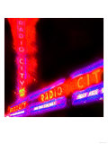 Radio City Night, New York Prints by  Tosh