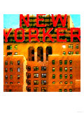 New Yorker, New York Prints by Tosh 