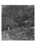 Hilton Head, SC, Sailors' Graves from Bombardment, Civil War Art