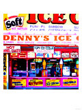 Coney Island Ice Cream, New York Prints by  Tosh