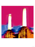 Battersea Power Station, London Giclee Print by  Tosh