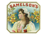 Samelson's Brand Cigar Box Label Posters