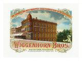 Wiggenhorn Brothers Brand Cigar Box Label Print