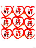 I Love NY, New York Prints by  Tosh