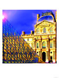 Louvre, Paris, France Posters by Tosh 
