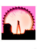 London Eye, London Giclee Print by  Tosh