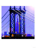 Brooklyn Bridge, New York Prints by  Tosh
