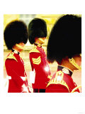 Queens Guards, London Giclee Print by  Tosh