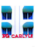 The Carlyle, Miami Posters by Tosh 