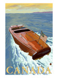 Canada, Chris Craft Boat Posters