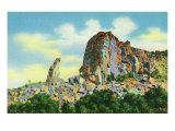 Santa Rita, New Mexico, View of the Kneeling Nun near Silver City Posters