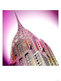 Chrysler Building, New York Print by  Tosh