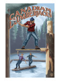 Canada, Canadian Lumberjacks Prints