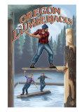 Oregon, Oregon Lumberjacks Prints