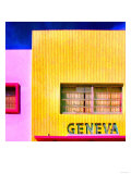 Geneva, Miami Poster by  Tosh