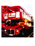 Red Bus, London Prints by  Tosh