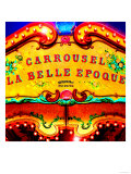 Carrousel Belle Epoque, Paris Prints by  Tosh