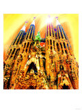 Sagrada Familia, Barcelona Art by  Tosh