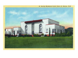 St. George, Utah, Exterior View of the Municipal Power Plant Prints by  Lantern Press