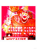 Clown, Las Vegas Giclee Print by  Tosh