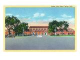 Ogden, Utah, Exterior View of the Ogden Union Depot Prints by  Lantern Press