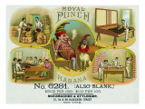 Royal Punch Brand Cigar Box Label Prints by  Lantern Press