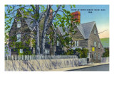 Salem, Massachusetts, Exterior View of the House of Seven Gables Prints