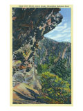 Great Smoky Mts National Park, TN, View of Alum Cave Bluffs Poster