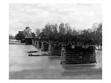 Richmond, VA, Ruins of Mayo's Bridge, Civil War Kunst