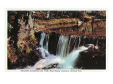 Great Smoky Mts National Park, TN, View of Roaring Fork Creek Waterfalls Prints