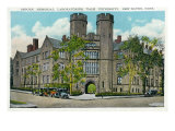 New Haven, Connecticut, Exterior View of Osborn Memorial Labs, Yale University Prints