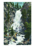 Steamboat Springs, Colorado, View of Fish Creek Falls Posters by  Lantern Press