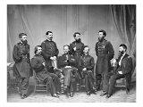 General Sherman and Staff, Civil War Prints by  Lantern Press