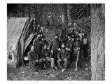 Antietam, MD, General Caldwell and Staff, Civil War Art