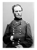 Portrait of William Sherman, Civil War Prints by  Lantern Press