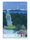 Washington DC, Arlington National Cemetery Posters by  Lantern Press