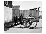 Richmond, VA, Whitworth Gun on Wharf, Civil War Posters by  Lantern Press