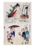 Applying Make-up and New Japan, Japanese Wood-Cut Print Prints by  Lantern Press