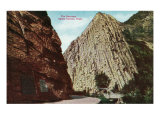 Ogden Canyon, Utah, View of the Narrows Posters by  Lantern Press