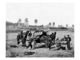 Zouave Ambulance Crew, Civil War Prints by  Lantern Press