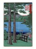 Chuzenji Lake in Shimozuke Province, Japanese Wood-Cut Print Prints by  Lantern Press