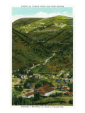 Idaho Springs, CO, Virginia Canyon from Town, 5 Elevations on Road to Central City View Poster
