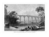 Maryland, View of the Baltimore and Washington Railroad Viaduct Prints by  Lantern Press