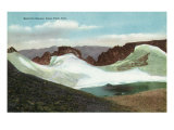 Rocky Mountain National Park, Colorado, Estes Park View of Hallett's Glacier Posters by  Lantern Press