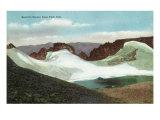 Rocky Mountain National Park, Colorado, Estes Park View of Hallett's Glacier Posters